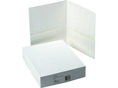 Avery 2-pocket Portfolio Folders White 25box 47991 2655711