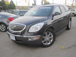 2009 BUICK ENCLAVE CXL |Leather • AWD • Chrome PKG • DVD • Loaded • Memory Seats •
