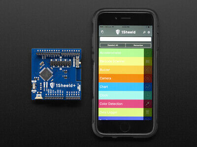 1Sheeld+: The Arduino shield for iOS and Android for Uno, Mega and Due Board