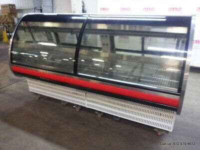 Arneg Chicago 3 Refrigerated Deli Meat Display Case Mfg In 2016