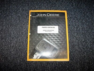 John Deere 350dlc 350 Dlc Excavator Parts Catalog Manual Manual Pc9545