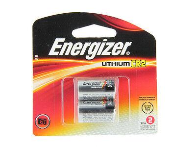 CR2 Energizer Batteries 2/Pack, EXP 2026, 800mAh 3V Lithium Photo EL1CR2BP2  El1cr2bp Lithium Photo Battery