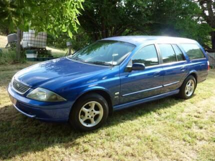 2002 Ford Wagon on LPG, RWC, 12 mths reg - Camping gear optional