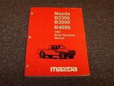 1997 Mazda B2300 B3000 B4000 Truck Body Electrical Wiring ...