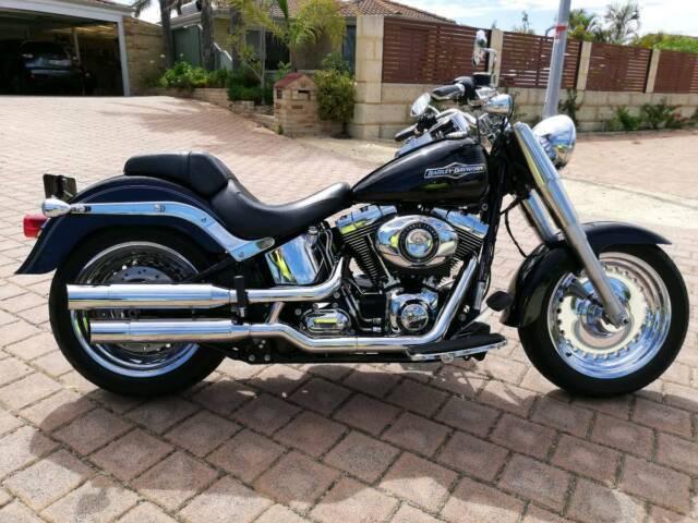 Harley Davidson Fat Boy Motorcycles Gumtree Australia Joondalup Area Woodvale 1240480553