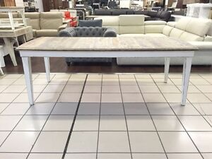 BRAND NEW - ANTIQUE DINING TABLE RECYCLED WOOD 220cm Logan Central Logan Area Preview