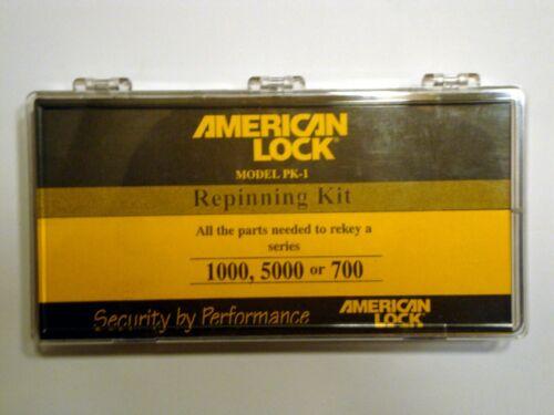 American Master Lock Repinning Re-keying Kit PK-1 Series 1000 5000 700 Pin Kit
