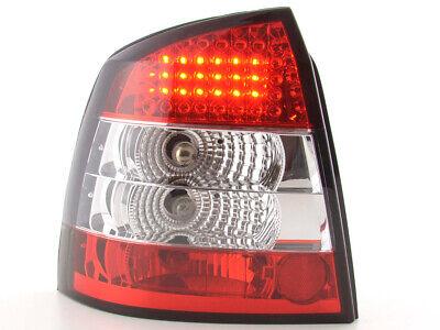 Gebraucht, FK-Automotive LED Rückleuchten Set Opel Astra G 3/5-trg Bj. 98-03 klar/rot gebraucht kaufen  Backnang