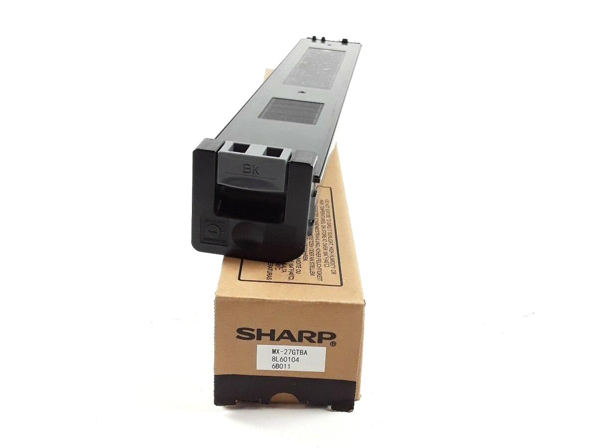 Sharp mx27gtba toner original toner laser noir pour imprimante mx-2300n/mx-2700n