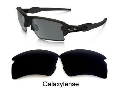 Galaxy Replacement Lenses For Oakley Flak 2.0 Sunglasses Black Polarized (Replacement Lenses For Oakley Sunglasses)