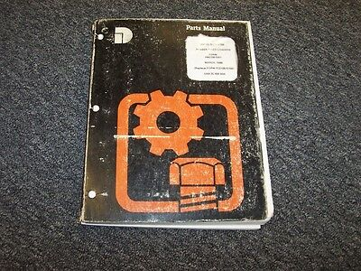 Dresser 510b 515b Wheel Loader Factory Original Parts Catalong Manual