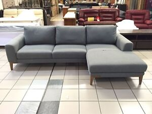 CLEARANCE - 3 SEATER LOUNGE WITH CHAISE Logan Central Logan Area Preview