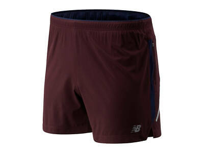 New Balance Men's Impact 5 Inch Short, MS81263-HNA ( X-Large )