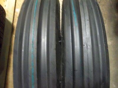 Two 500x15500-155.00x155.00-15 Jinma Jm-300  3 Rib Tractor Tires Wtubes