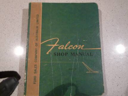 1965 Ford Falcon Shop Manual For Sale South Perth South Perth Area Preview