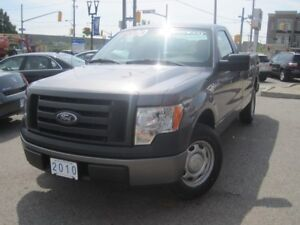 2010 FORD F-150 XL   8 FT Long Box • Low KMS!!!!!