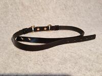 Dsquared2 Cintura Pelle Nero Oro Tg. M - dsquared2 - ebay.it