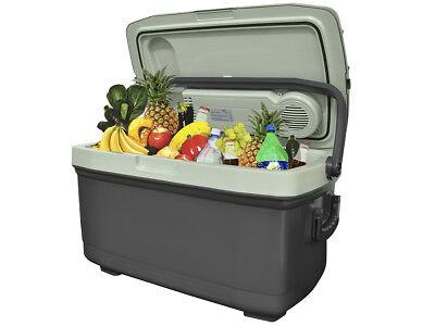 Elektrische 45 L Kühlbox Wärmebox Campingbox 12V / 230V Stecker #5127