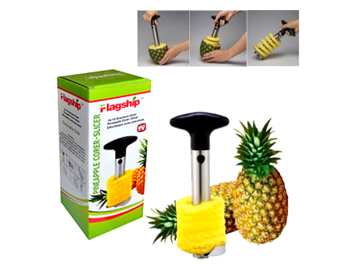 pineapple corer slicer cutter easy kitchen gadget