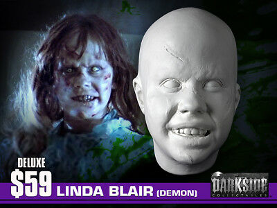 NEW LINDA BLAIR THE EXORCIST LIFE-SIZE Life Cast Life-Mask in Lightweight Resin