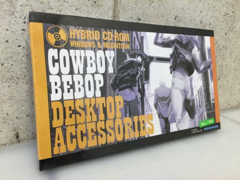 COWBOY BEBOP Desktop accessories Mac / Win CD-ROM Spike Spiegel Jet Black