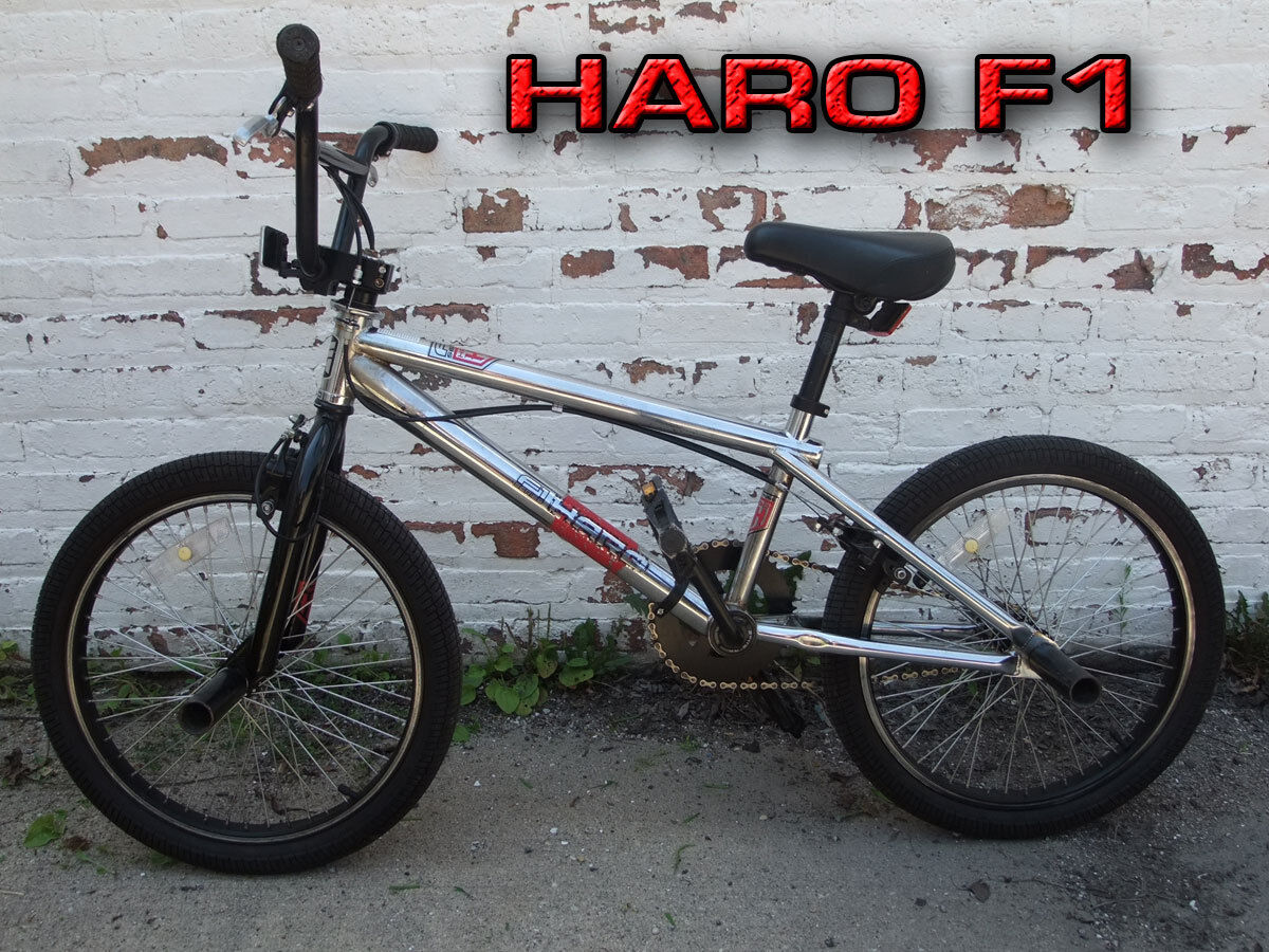 "Early 2000""s Haro F1 BMX Bike, All Original, Chrome"