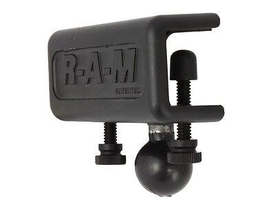 "RAM Glare Shield Flat Clamp Channel Mount w/1"" Ball, RAM-B-259U"