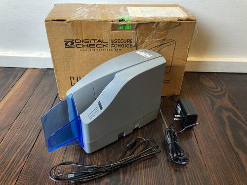 Digital Check CheXpress 30 152000-01 Cx30 USB Non-Inkjet Check Scanner Endorser