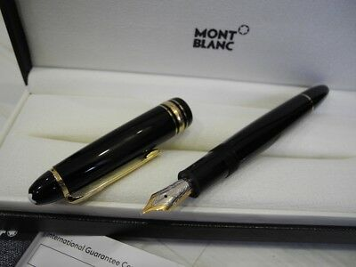 MONTBLANC LEGRAND 146 Meisterstuck 14K GOLD Nib M Fountain Pen FULL SET NEW SALE](mont blanc fountain pen sale)