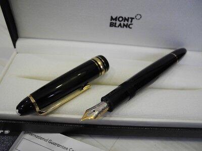 MONTBLANC LEGRAND 146 Meisterstuck 14K GOLD Nib M Fountain Pen FULL SET NEW SALE](mont blanc fountain pen sale)
