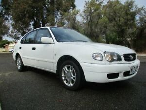 2001 Toyota Corolla AE112R Conquest Seca 5 Speed Manual Liftback Alberton Port Adelaide Area Preview