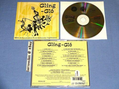 Bjork Guomundsdottir and Trio Guomundar Ingolfssonar Gling-Glo One Little Indian