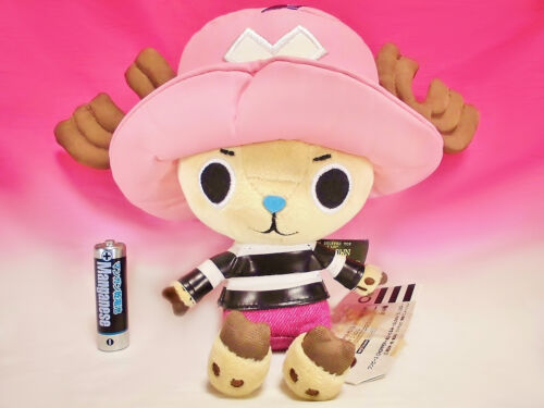 New old stock ☆ One Piece Chopper Plus Stuffed Toy Impel Down Sunny's Log Japan