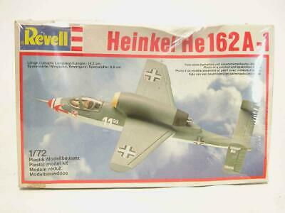 1:72 Revell Heinkel He162A-1 Aircraft Plastic Scale Model Kit SEALED NOS 4143