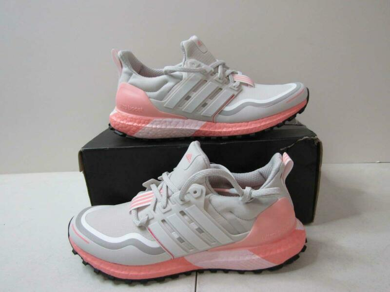 Adidas Women's 8.5 Ultraboost Guard Running Shoes Grey One/Cloud White/Grey Two