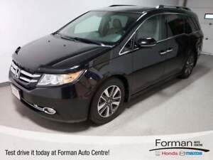 2014 Honda Odyssey Touring|Rmt Start|DVD|Lthr|Pwr Tail