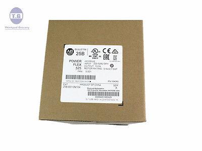 New Factory Sealed Allen Bradley 25B-D013N104 PowerFLEX 525 480V 25BD013N104