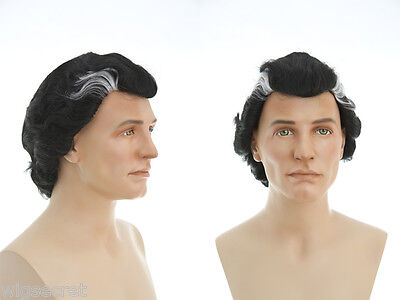 Short Brunette Straight Dracula Fun Color Costume Wigs for Halloween or a Party](Halloween Costumes For Brunettes)