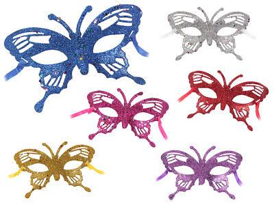 Venezianische-Maske Augenmaske Faschingmaske Karnevals-maske Schmetterlingsmaske (Venezianische Maske Schmetterling)