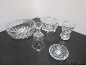 62. Crystal dressing table set #2