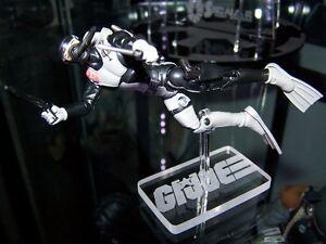 Acrylic display stand for GI Joe 3.75