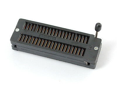 40 Pin Zif Dip Ic Socket Universal Testing Unit For 40 Pin Up To 0.6 Wide Black