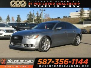 2013 Audi A6 3.0T (Tiptronic)/ NAV/ SUPERCHARGED