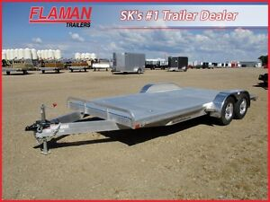"ATC 18' Aluminum Car Hauler - 84"" Low Clearance Ramps!"