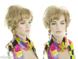 Medium-Length-Short-Brunette-Red-Shag-Style-Wavy-Wigs-Flipped-Ends-and-Bangs