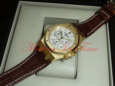 $29995.00 - Audemars Piguet Royal Oak Chronograph 39mm Yellow Gold 26022BA.OO.D088CR.01