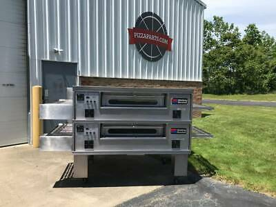 Middleby Marshall Ps570g Double Deck Conveyor Pizza Oven Belt Width 32