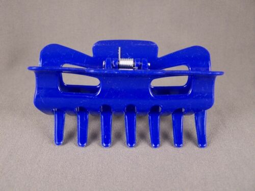 blue plastic hair clip claw barrette clamp