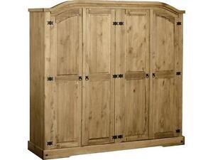 Wooden Wardrobe Styles : Solid Wood Wardrobes  Wardrobes  eBay