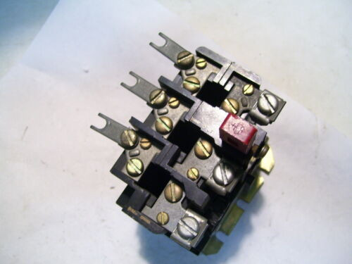 EATON CUTLER HAMMER WESTINGHOUSE AN13A THERMAL OVERLOAD RELAY W/LINKS P3127B